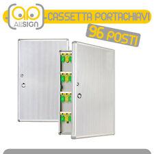 CASSETTA PORTACHIAVI 96 GANCI condomini arredo bricolage casa chiavi oggetti box