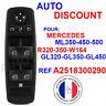 Commande Bouton Leve Vitre Interrupteur  Mercedes Benz ML320 2518300290 NEUF