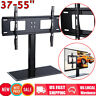 "37-55"" Universal Table Top TV Stand Base Bracket Mount Flat-Screen LED LCD US"