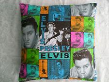 "Rock n Roll/Rockabilly ""Elvis Presley"" Cushion/Pillow Case Cover. No 22."