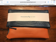 BRAND NEW AMERICAN AIRLINES BUSINESS CLASS AMENITY KIT COLE HAAN 2017