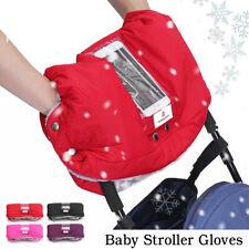 Waterproof Baby Stroller Pram Gloves Pushchair+Pocket For TouchScreen      1  09