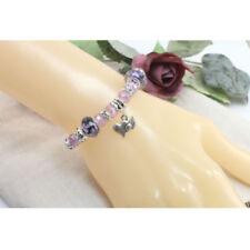 Glass Silver Plated Charms & Charm Bracelets
