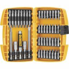 Dewalt DW2166 45 Piece Screwdriver Set Magnetic Driving Drill Bits W/Tough Case