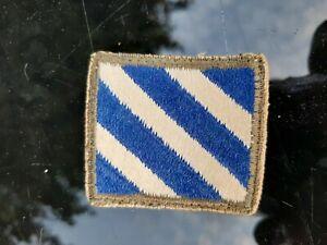 Original ww2 US 3rd Infantry division Patch