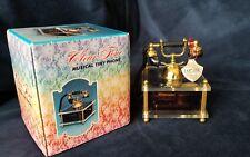 "Vintage Miniature Phone Musical Box Lucite Japan 4""x 3.25"""