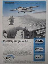 5/1946 PUB BRISTOL AEROPLANE FREIGHTER AG AIRCRAFT AGRICULTURAL ORIGINAL AD