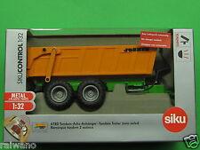 1:32 Siku Control 6780 Tandem Achs Anhänger Joskin Blitzversand per DHL-Paket