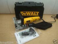 BRAND NEW DEWALT DW682K 110V BISCUIT DOWEL JOINTER 110v 110VOLT  + 300 DOWELS
