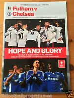 2014 FA YOUTH CUP FINAL PROGRAMME (1st LEG) *(FULHAM V CHELSEA)*  (28/04/2014)