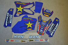 FLU  DESIGNS TEAM ROCKSTAR  YAMAHA GRAPHICS AND BACKGROUNDS YAMAHA YZ85