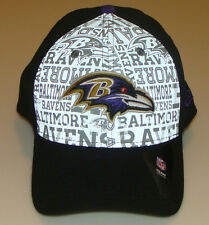 New Era Hat Cap NFL Football Baltimore Ravens 39thirty S/M 2014 Draft Flex Fit