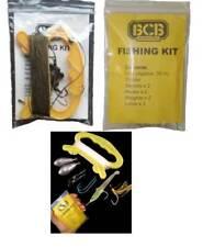 5 X BCB Lifeboat Survival Emergency Fishing Kits Pocket Sized Handline & Hooks