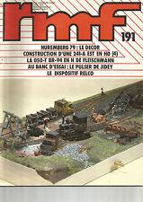 RMF  N°191 NUREMBERG 79 : DECOR / 241-A EST EN HO / 050-T BR-94 EN N FLEISCHMANN