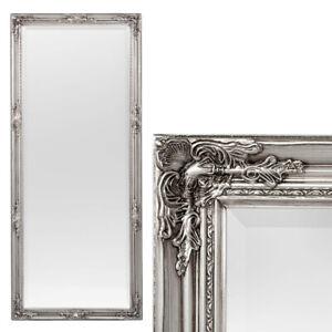 Spiegel HOUSE barock Antik-Silber ca.180x80cm Wandspiegel Flurspiegel Badspiegel