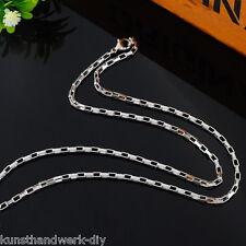 KUS 1 Herren Damen Massiv Edelstahl Venezianerkette Halskette Collier 51.5cm