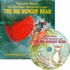 The Little Mouse, the Red Ripe Strawberry and the Big Hungry Bear (Mixed Media P