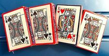 NEW in shrink wrap 2 decks playing cards! 21, Solitaire, FISH, War, Poker L@@K!