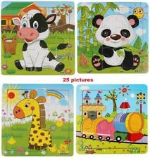 Animals Wooden Puzzles