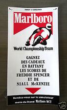 Autocollant Sticker World Championship Team Marlboro SPENCER-Mc KENZIE
