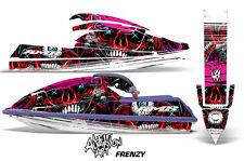 AMR Racing Jet Ski Graphics Wrap Kawasaki SX 750 Decal Kit 1992-1998 FRENZY RED