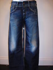 Replay Indigo, Dark wash Bootcut 30L Jeans for Men