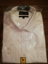 Marks and Spencer mens shirt size 16 and a half inch. White.regular fit non iron