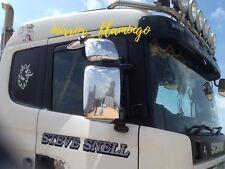 SCANIA Camion Carro non cromato acciaio inox specchio copre le parti! destra & sinistra?