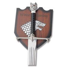 Game of Thrones Sword Wolf Head Jon Medieval