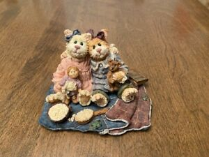 Boyd's Bears The Purrstone Collection - Catarina & Sassy - Purrfect Friends