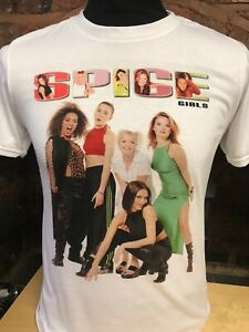 WOMENS SPICE UP YOUR LIFE LEOPARD PRINT  T SHIRT TOP KIDS LADIES SPICE GIRLS