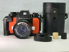 【Exc+++】Nikon Nikonos-V Orange Underwater Camera w/ Nikkor-Q 80mm f/4 from JAPAN