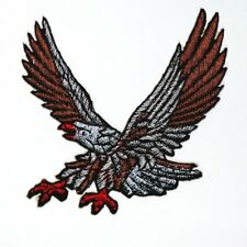 Eagle Hawk Bird Animal Motorcycles Harley Biker Rock Jacket Shirt Iron on Patch