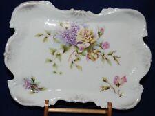 Vintage Wheelock Dresden Germany Trinket Serving Porcelain Tray