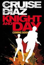 KNIGHT AND DAY Movie POSTER 27x40 D Tom Cruise Cameron Diaz Maggie Grace Peter