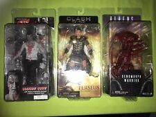NECA Aliens Series 5 Genocide Red Xenomorph Warrior Alien Marv Perseus