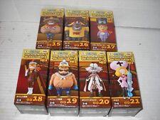 Banpresto One Piece WCF lot Film Gold Vol. 3 full set 7 figures GD 15-21 MIB NEW
