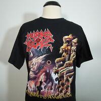- MORBID ANGEL Gateways To Annihilation T-Shirt Black Men's size M (NEW)