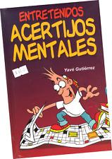 """LIBRO """"ENTRETENIDOS ACERTIJOS MENTALES"""" EN ESPAÑOL"""