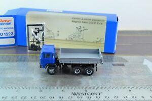 ROCO 1522 IVECO Magirus Dump Truck Blue HO Scale 1:87