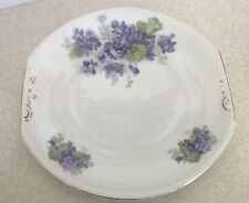 Vintage Victoria Czechoslovakia bone china sandwich plate