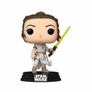 Funko Star Wars POP Rey Yellow Lightsaber Vinyl Figure NEW IN STOCK