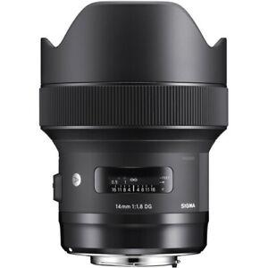 Sigma 14mm f/1.8 DG HSM Art Lens for (Nikon F)