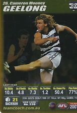 2007 Teamcoach Gold 26 Cameron Mooney Geelong