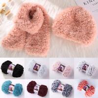 50g Craft Imitation Mink Wool Yarn Crocheting Knitting Yarn Accessory DIY