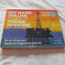 online store fce8a a2090 1974 NORTH SEA OIL OFF SHORE DRILLING THE EXPLORATION Board Game JEU COPP  Clark