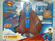 Superman Returns Radio Control Flying Superman New in Box