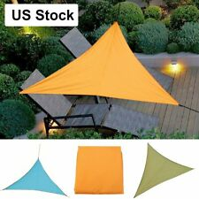 Waterproof Sun Shade Sail Garden Patio Awning Sunscreen UV Triangle Cover U.S.A