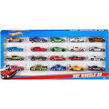 Hot Wheels Die-cast Vehicles 20 Piece Genuine Kids Gift Pack Various Race Cars