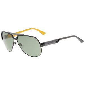 Diesel Sonnenbrille DL0026_6301B Herren Schwarz Gelb Sunglasses Men NEU & OVP
